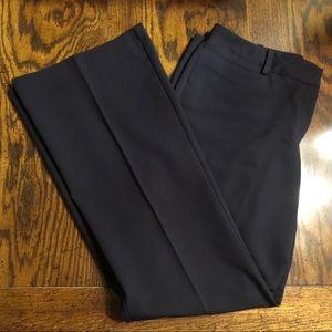 Worthington Curvy Fit Black Slacks 10S